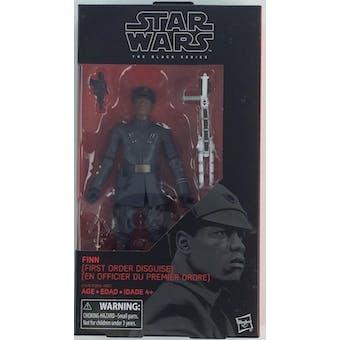 Star Wars E8 Last Jedi Black Series Finn First Order Disguise Figure