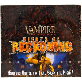 Vampire the Eternal Struggle: Nights of Reckoning Booster Box (White Wolf)