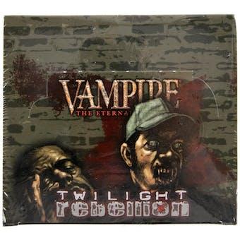 Vampire the Eternal Struggle: Twilight Rebellion Booster Box (White Wolf)