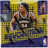 2017/18 Panini Revolution Basketball Hobby Box