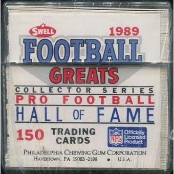 1989 Swell Greats Football Factory Set