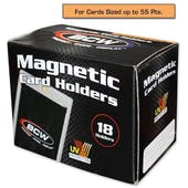 BCW 55pt. Magnetic Card Holder (18 Count Box)