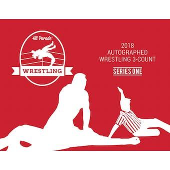 2018 Hit Parade Auto Wrestling Three Count Edition Ser 1 3-Box - New Year 9 Spot Random Hit Break #5