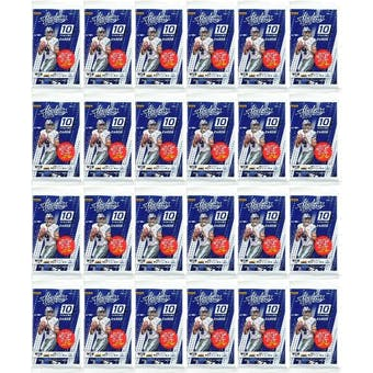 2017 Panini Absolute Football Retail Pack (Lot of 24)