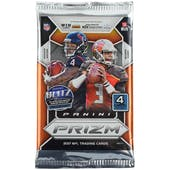 2017 Panini Prizm Football Retail Pack (Lot of 24)