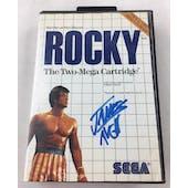 Sega Master System Rocky AVGN James Rolfe Blue Autograph Boxed