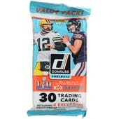 2017 Panini Donruss Football Jumbo Pack (Lot of 12)