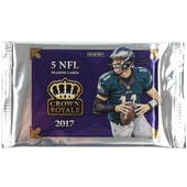 2017 Panini Crown Royale Football Ultra Pack