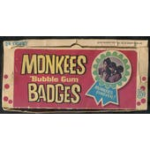 1967 Donruss Monkees Badges 5-Cent Display Box