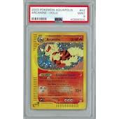 Pokemon Aquapolis Arcanine H2/H32 PSA 9