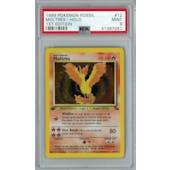 Pokemon Fossil 1st Edition Moltres 12/62 PSA 9