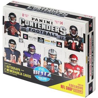 2017 Panini Contenders Football 14-Pack Ultra Box