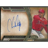 2015 Topps Tier One #AAHS Hector Santiago Acclaimed Auto #210/399