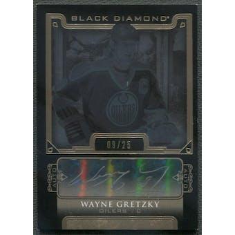 2015/16 Black Diamond #BDBWG Wayne Gretzky Pure Black Auto #09/25