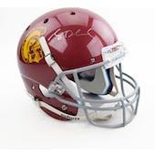 Sam Darnold Autographed USC Trojans Replica Full Size Football Helmet (GTSM COA)