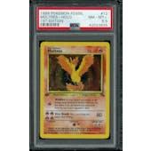 Pokemon Fossil 1st Edition Moltres 12/62 PSA 8.5