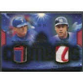 2004 SP Game Used Patch #RJ2 Alex Rodriguez & Derek Jeter Stellar Combos Dual Patch #20/25