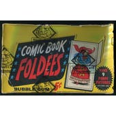 1966 Topps Comic Book Foldees Box