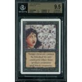 Magic the Gathering Unlimited Fear BGS 9.5 (9, 9.5, 9.5, 10)
