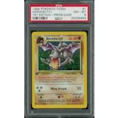 Pokemon Fossil 1st Edition Aerodactyl Prerelease Promo 1/62 PSA 8