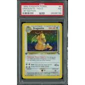 Pokemon Fossil 1st Edition Dragonite 4/62 PSA 7
