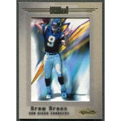 2001 Fleer Showcase #122 Drew Brees Rookie #086/500