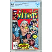 New Mutants #87 CBCS 9.6 (W) *18-09D0CD7-023*