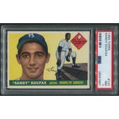 1955 Topps Baseball #123 Sandy Koufax Rookie PSA 7 (NM)