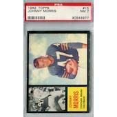 1962 Topps Football #15 Johnny Morris SP PSA 7 (NM) *9977