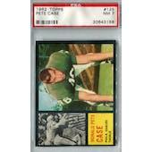 1962 Topps Football #125 Pete Case SP PSA 7 (NM) *3158