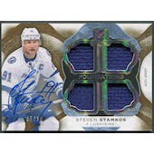 2016/17 The Cup #FSS Steven Stamkos Foundations Jersey Auto #05/15