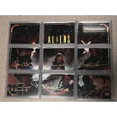 2018 Upper Deck Employee Exclusive Aliens Auto Autographed Set