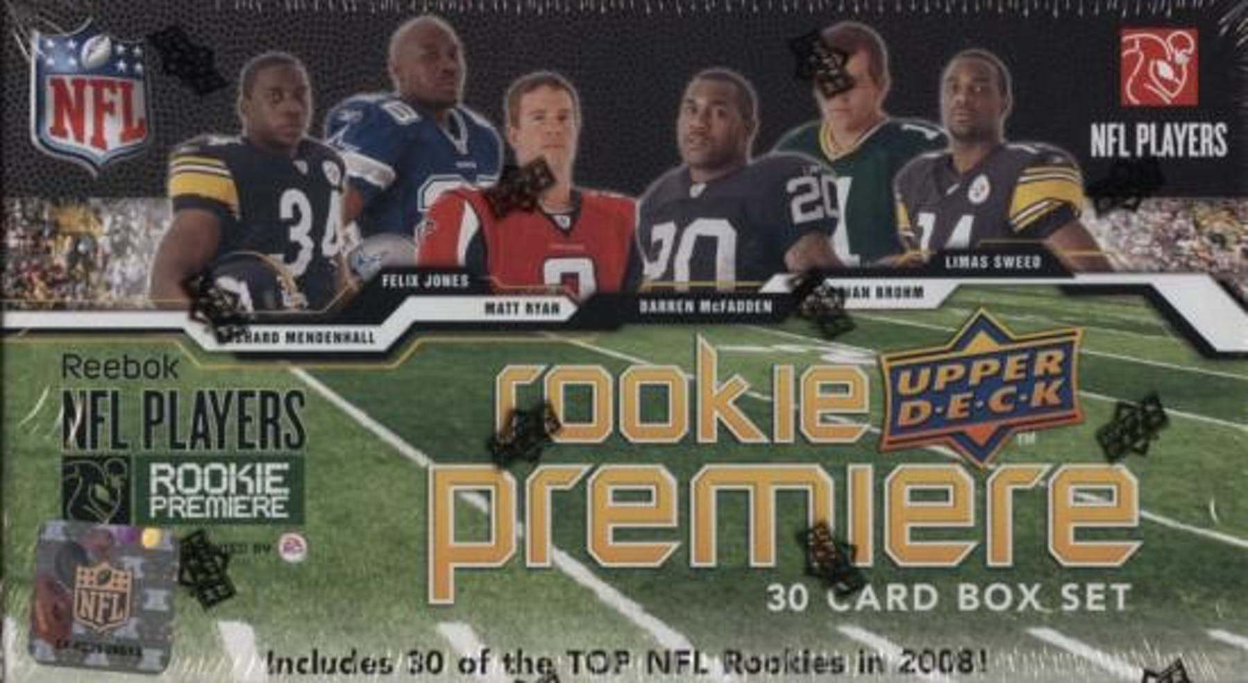 2008 Upper Deck Rookie Premiere Football Hobby Set Box