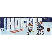 1976/77 Topps Hockey Wax Box
