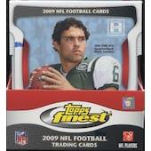 2009 Topps Finest Football Hobby Mini-Box
