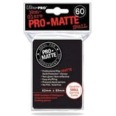 Ultra Pro Yu-Gi-Oh! Size Pro-Matte Black Deck Protectors (60 count pack)