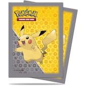 Ultra Pro Deck Pokemon Pikachu Grey Deck Protectors (65 Ct.)