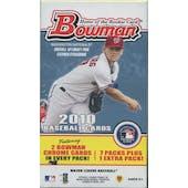 2010 Bowman Baseball Blaster Box