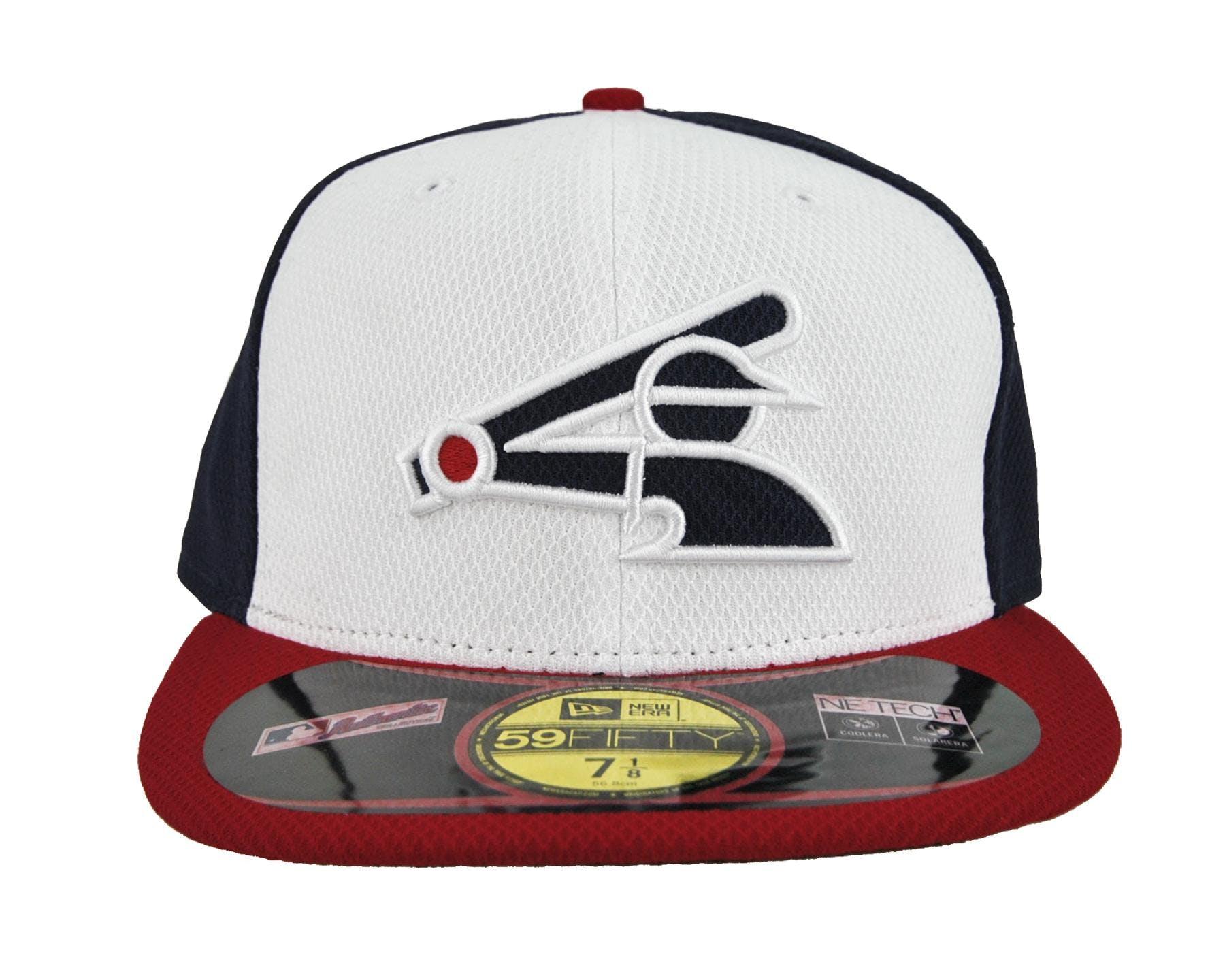 d62ac1f2e76 Chicago White Sox New Era Retro Logo Navy   White Diamond Era ...