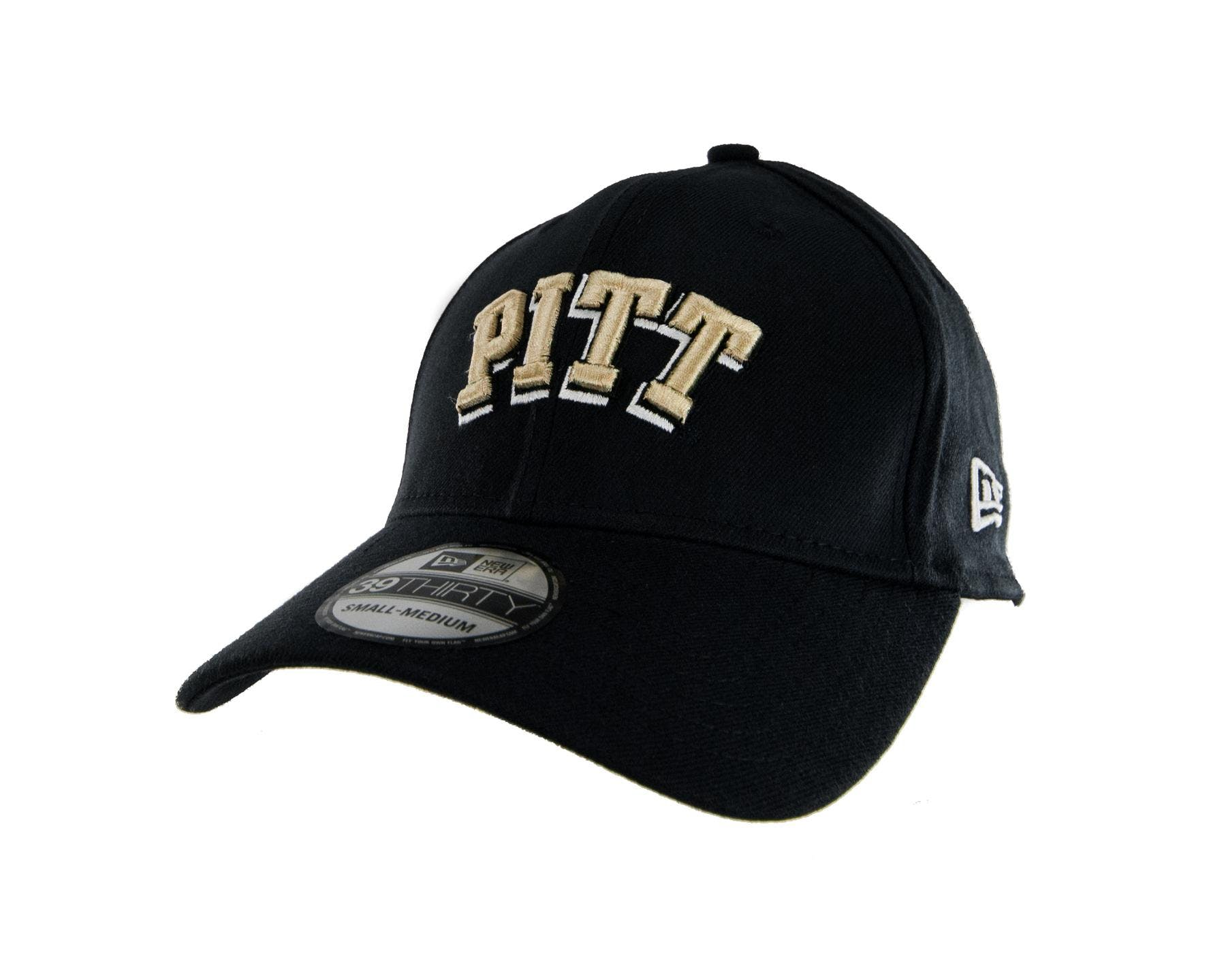 94b6792d090 Pittsburgh Panthers New Era 39Thirty Team Classic Navy Flex Fit Hat ...