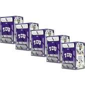 2016 Panini TCU Collegiate Multi-Sport Blaster Box (Lot of 5)
