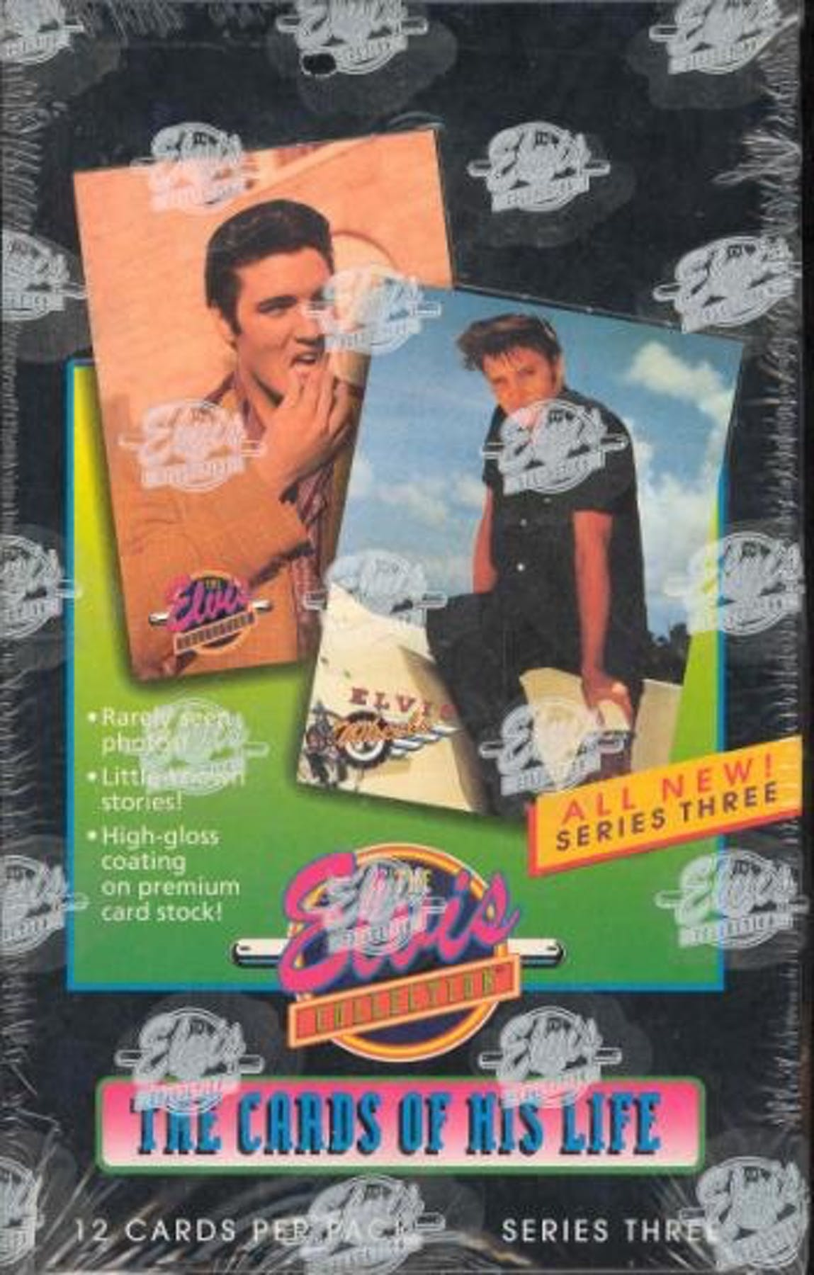 The Elvis Collection The Cards Of His Life Series 3 Box 1992 River