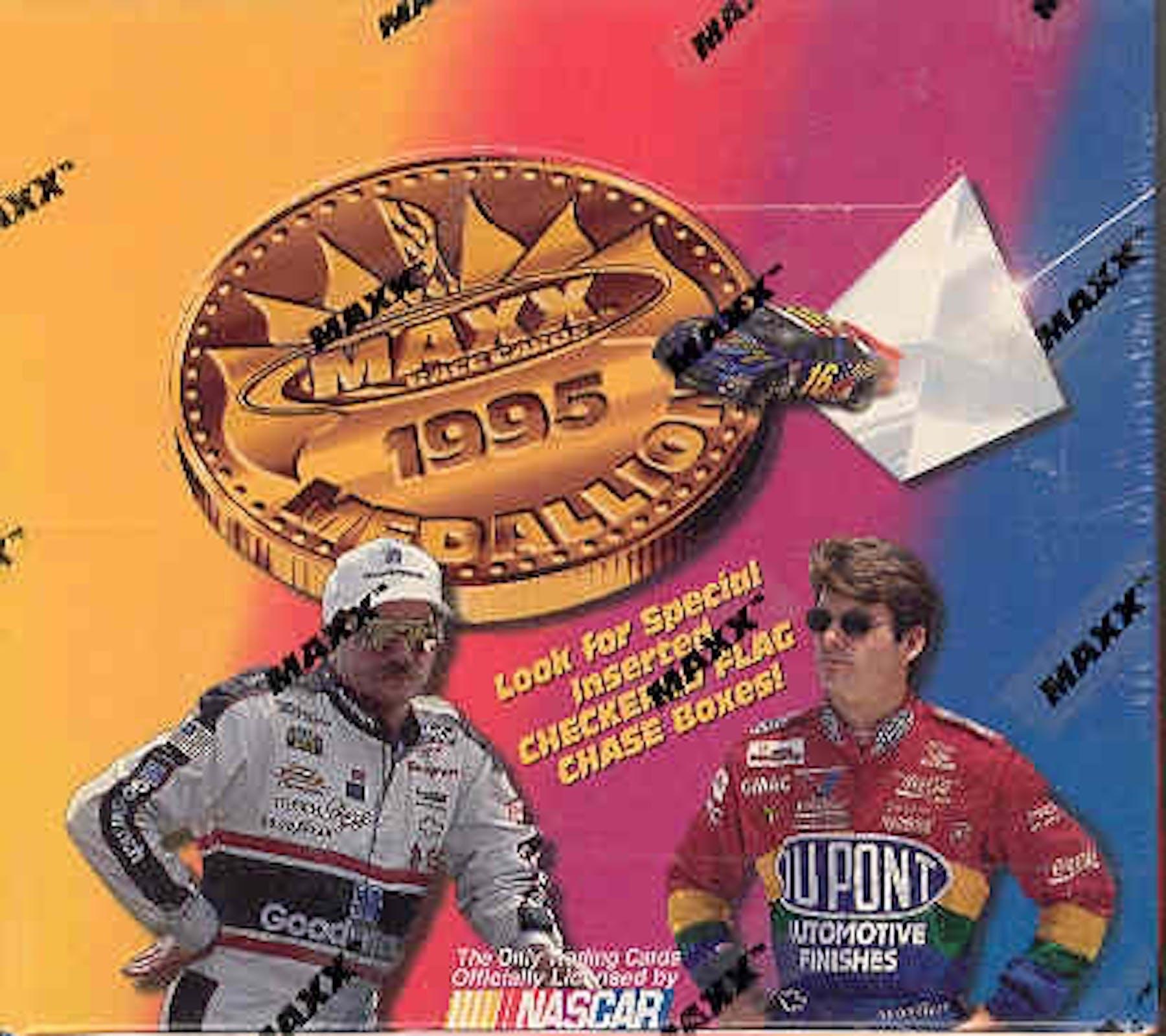 1995 J.R. Maxx Inc. Maxx Medallion Racing Hobby Box | DA Card World