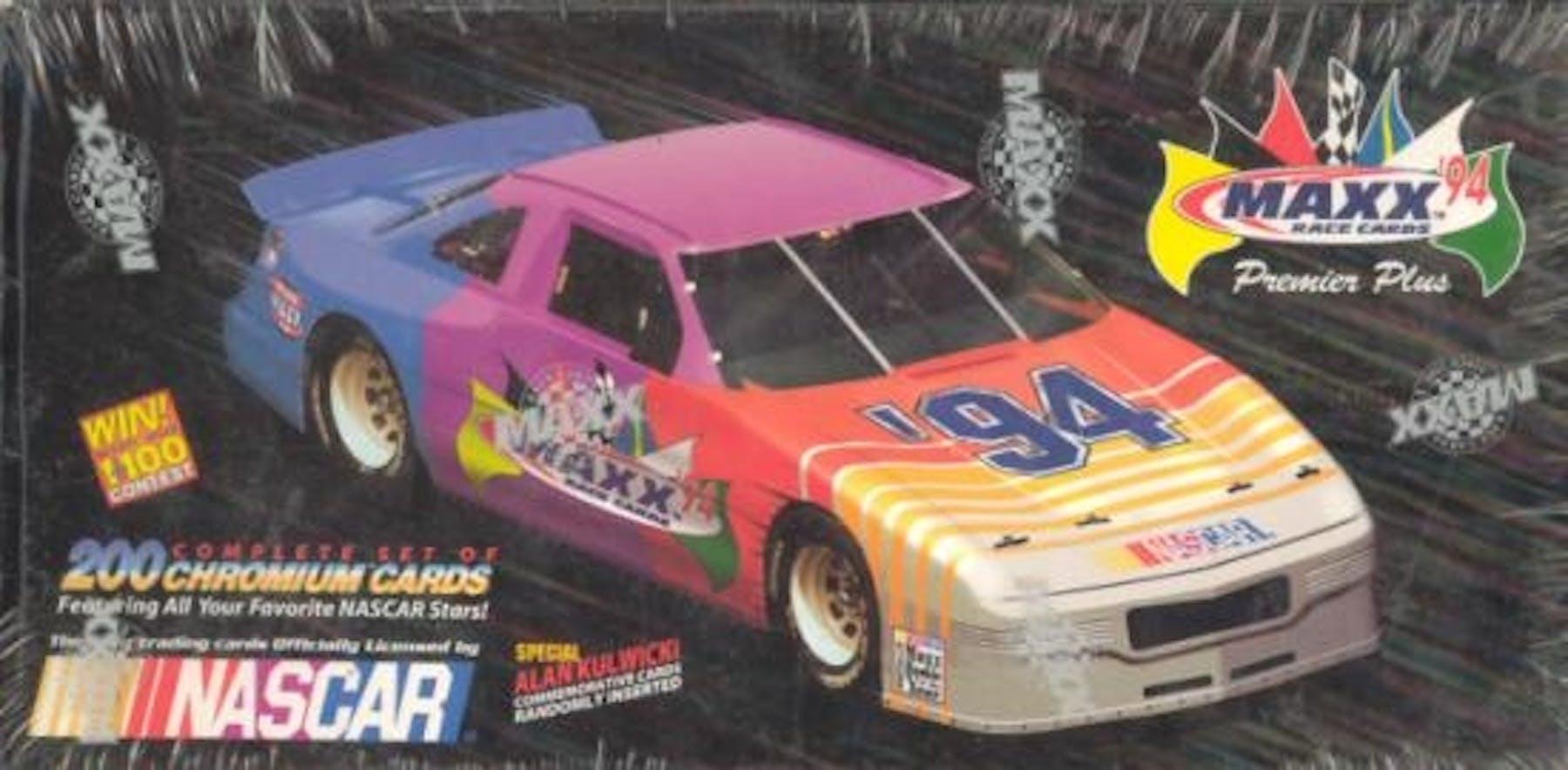 1994 J.R. Maxx Inc. Maxx Premier Plus Racing Hobby Box | DA Card World