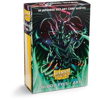 Dragon Shield Yu-Gi-Oh! Size Card Sleeves - Blood Eyes Art (60 Ct. Pack)