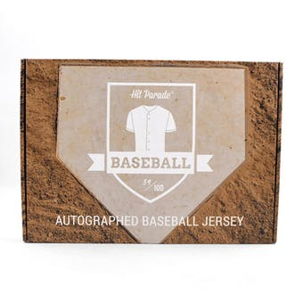 2019 Hit Parade Auto Baseball Jersey 1-Box Series 2- DACW Live 6 Spot Random Division Break 5