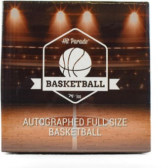 2018/19 Hit Parade Autographed Full Size Basketball Hobby Box - Series 2 - Luka Doncic, & Joel Embiid!!!