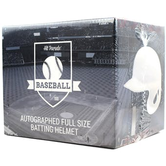 2018 Hit Parade Auto Baseball Batting Helmet 1-Box Ser 8- New Year 6 Spot Random Division Break #2