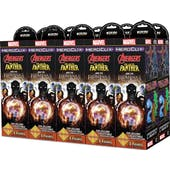 Wizkids Marvel HeroClix: Avengers Black Panther and the Illuminati Booster Brick (10 Ct.)