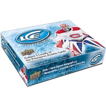 2017/18 Upper Deck Ice Hockey 10-Box Case- DACW Live 31 Team Random Break #10